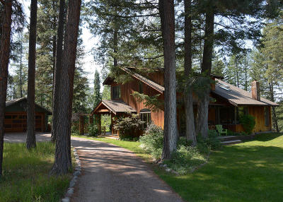 Flathead County Single Family Home For Sale: 196 Slow Down Lane
