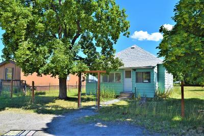 Arlee MT Single Family Home Under Contract Taking Back-Up : $129,900