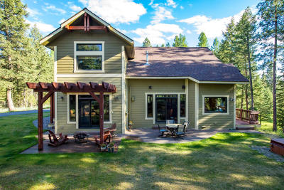 Flathead County Single Family Home For Sale: 90 Irish Bend Lane