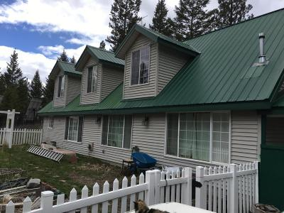 Flathead County Single Family Home Under Contract Taking Back-Up : 2981 Browns Meadow Road