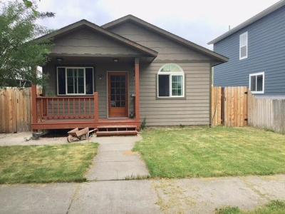 Missoula Single Family Home For Sale: 1926 South 13th Street West