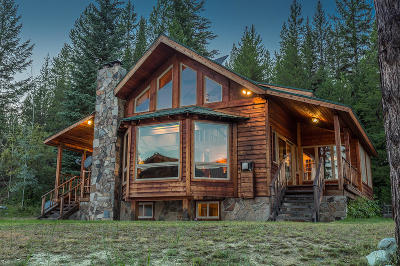 Lincoln County Single Family Home For Sale: 37258 Yaak River Road