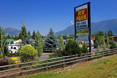 Flathead County Commercial For Sale: Western Montana RV Park