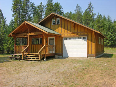 Thompson Falls Single Family Home Under Contract Taking Back-Up : 1671 Blue Slide Road