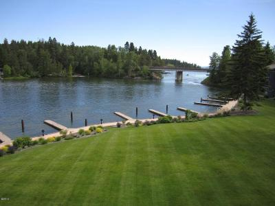 Flathead County Single Family Home For Sale: 355 Marina Cay Condo