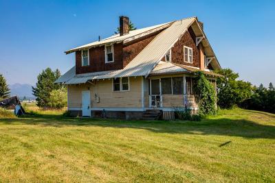 Flathead County Single Family Home For Sale: 315 Mennonite Church Road