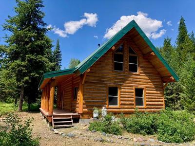 West Glacier, Polebridge Single Family Home For Sale: 600 Deep Woods Trail