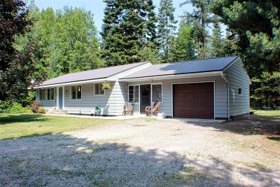 Bigfork Single Family Home Under Contract Taking Back-Up : 1385 Mt Hwy 209