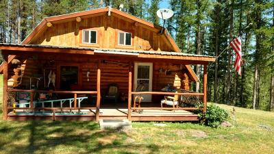 Seeley Lake Single Family Home Under Contract Taking Back-Up : 932 Old Barn Road