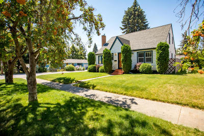 Kalispell Single Family Home Under Contract Taking Back-Up : 752 4th Avenue West North