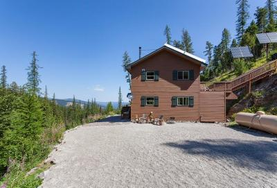 Flathead County Single Family Home For Sale: 2001 Haskill Divide
