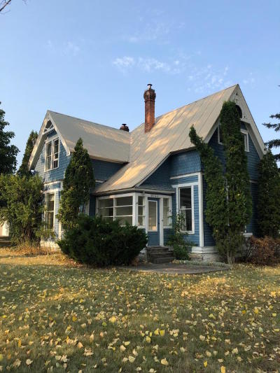 Columbia Falls Single Family Home For Sale: 1033 12th Street West