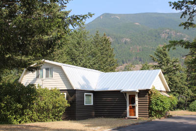 Columbia Falls Single Family Home For Sale: 7515 Highway 2 East