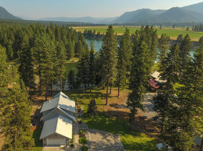 Sanders County Single Family Home For Sale: 21 Craws Nest Loop Road