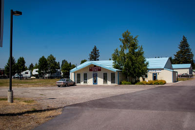 Columbia Falls Commercial For Sale: 3585 Mt-40