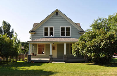 Missoula Single Family Home Under Contract Taking Back-Up : 660 River Court