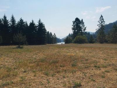 Lincoln County Residential Lots & Land Under Contract Taking Back-Up : 6141 Kootenai River Road
