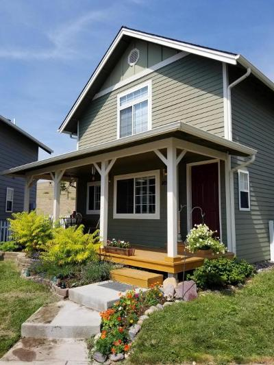Missoula Single Family Home Under Contract Taking Back-Up : 5096 Cache Court