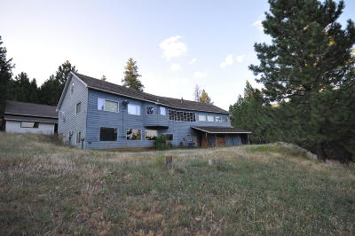 Missoula Single Family Home For Sale: 4900 Old Marshall Grade Road