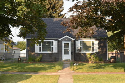 Flathead County Single Family Home Under Contract Taking Back-Up : 925 8th Avenue East