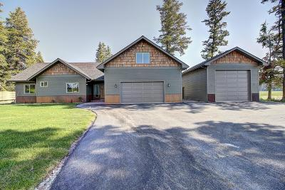Flathead County Single Family Home Under Contract with Bump Claus: 150 Brody Lane