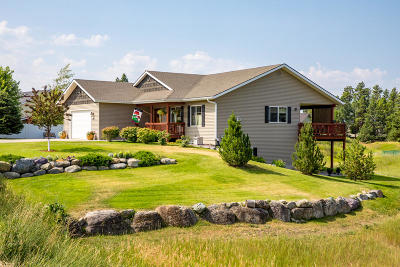 Flathead County Single Family Home For Sale: 595 Country Way South