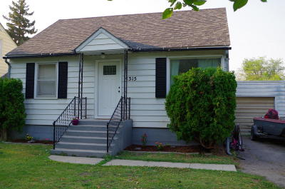 Flathead County Single Family Home For Sale: 1315 4th Street West