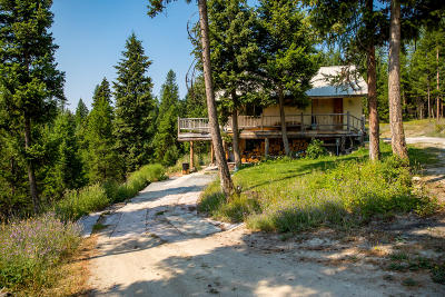 Flathead County Single Family Home For Sale: 800 Merical Mountain Road