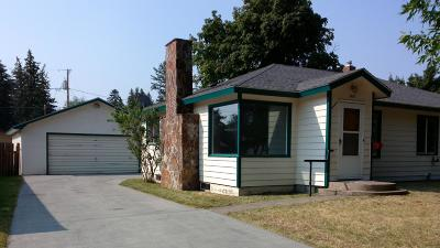 Flathead County Single Family Home For Sale: 1402 3rd Street West