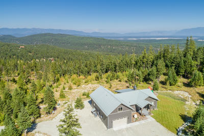 Flathead County Single Family Home For Sale: 1015 Paradise Hills Drive