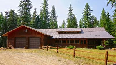 Missoula County Single Family Home For Sale: 6388 Hwy 83 North