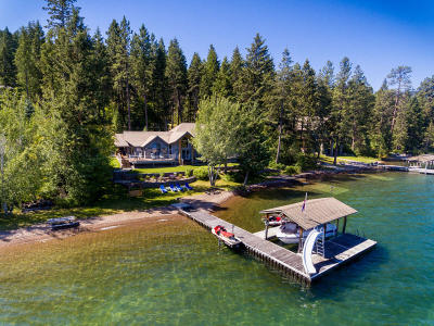 Flathead County Single Family Home For Sale: 497 Conrad Point Drive