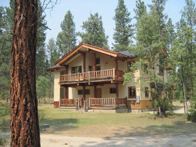 Ravalli County Single Family Home For Sale: Nhn Sheafman Creek Road