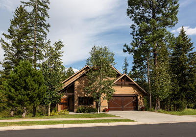 Whitefish Single Family Home For Sale: 729 Clearwater Drive