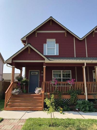 Missoula MT Single Family Home For Sale: $219,900