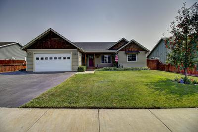 Columbia Falls, Hungry Horse, Martin City, Coram Single Family Home Under Contract with Bump Claus: 1161 16th Avenue West