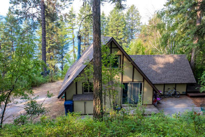 Whitefish Single Family Home Under Contract Taking Back-Up : 120 Lakeshore Place