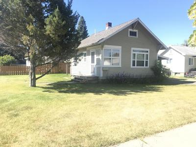 Missoula County Single Family Home For Sale: 1901 South 9th Street West