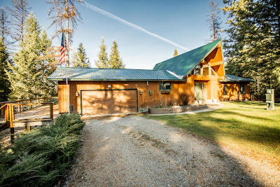 Kalispell Single Family Home Under Contract Taking Back-Up : 103 East Many Lakes Drive
