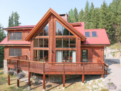 Flathead County Single Family Home Under Contract Taking Back-Up : 2651 Wild Bill Road