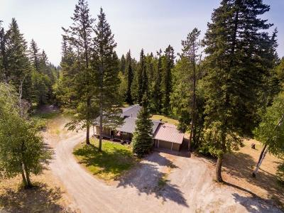 Columbia Falls Single Family Home Under Contract Taking Back-Up : 1990 Tamarack Lane