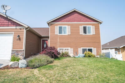 Kalispell Single Family Home Under Contract Taking Back-Up : 407 Mountain Vista Way