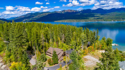 Flathead County Single Family Home For Sale: 1508 West Lakeshore Drive