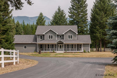 Flathead County Single Family Home Under Contract Taking Back-Up : 255 Tree Farm Trail