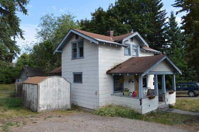 Flathead County Multi Family Home Under Contract Taking Back-Up : 331 Baker Avenue