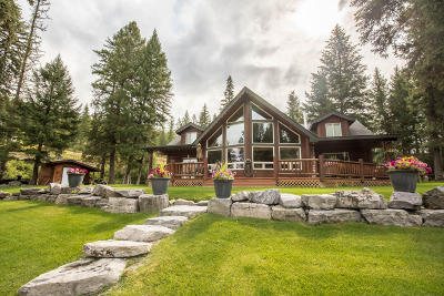 Flathead County Single Family Home For Sale: 6685 Us Highway 93 North