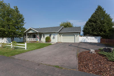 Columbia Falls, Hungry Horse, Martin City, Coram Single Family Home Under Contract Taking Back-Up : 2407 Talbot Road