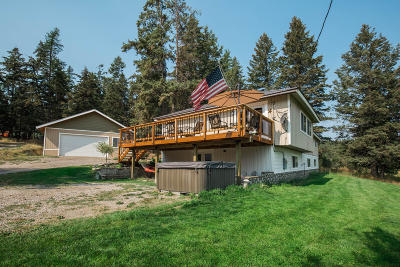 Kila Single Family Home For Sale: 4285 U.s. Hwy 2 West