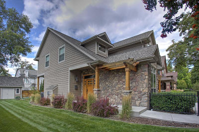 Missoula Single Family Home For Sale: 122 Daly Avenue