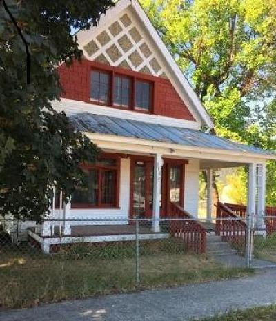 Lincoln County Single Family Home For Sale: 318 East Kootenai Avenue